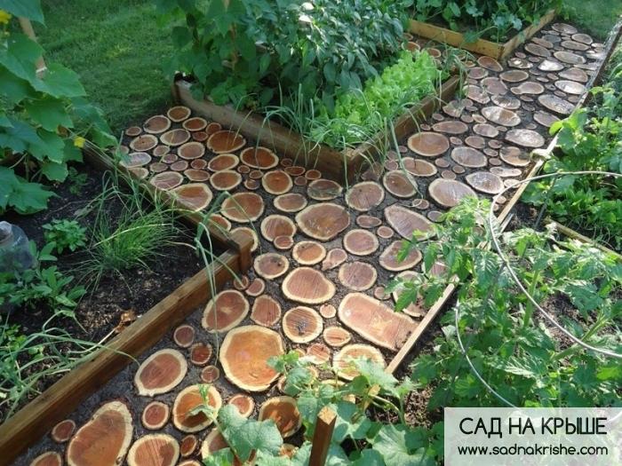 Сад. дорожка своими руками
